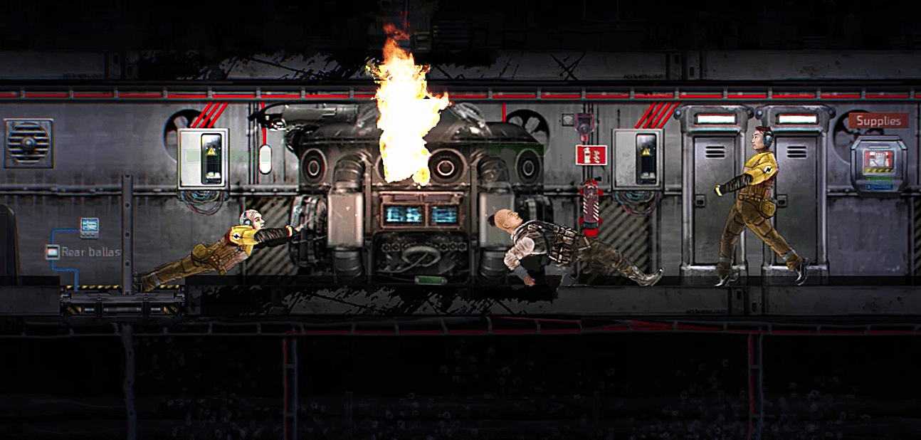 Barotrauma gameplay footage