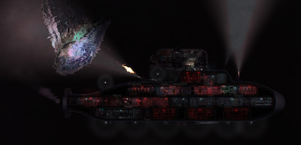 Barotrauma | 2D Co-op Multiplayer Drowning Simulator  In Space
