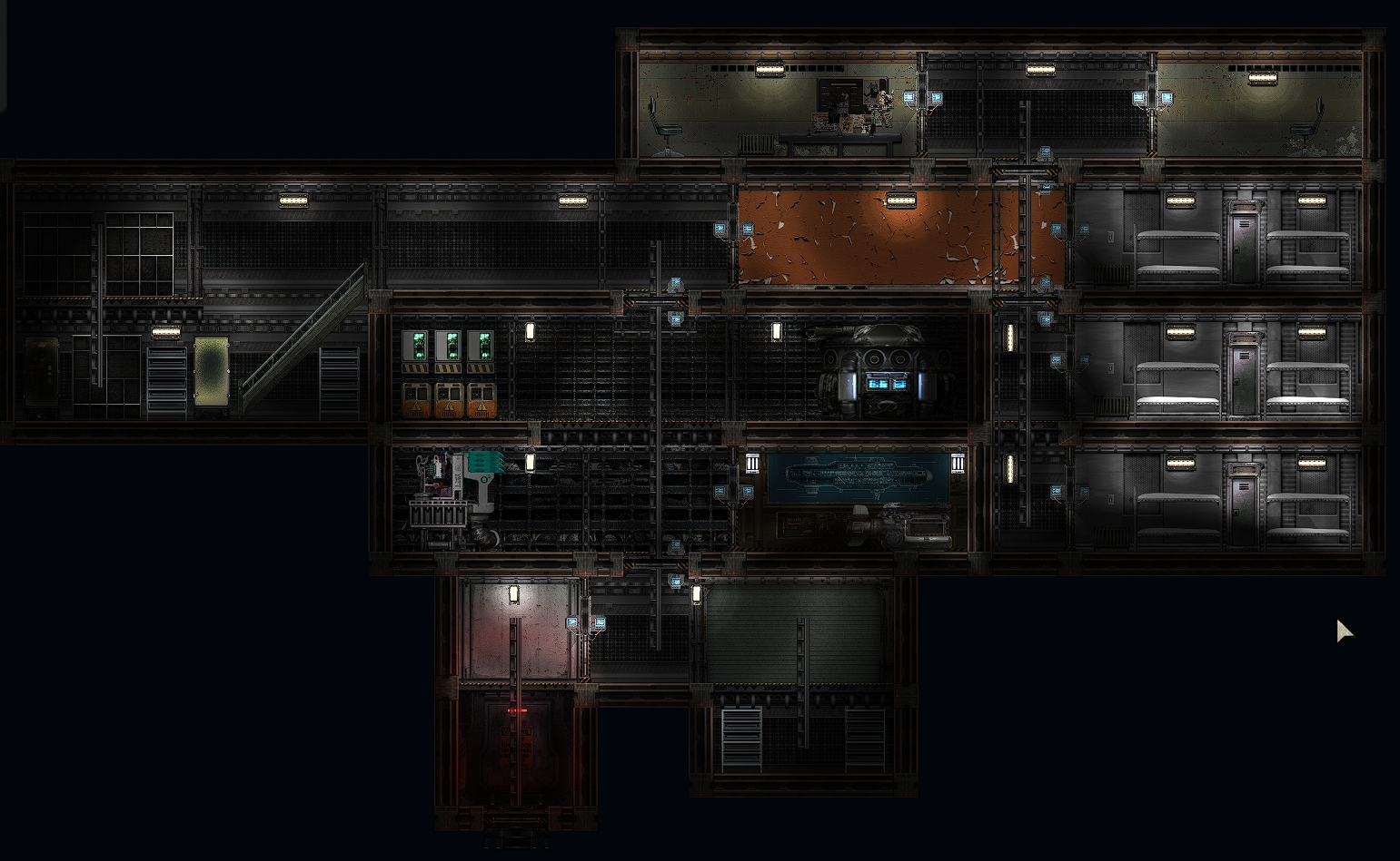 Barotrauma physical outpost