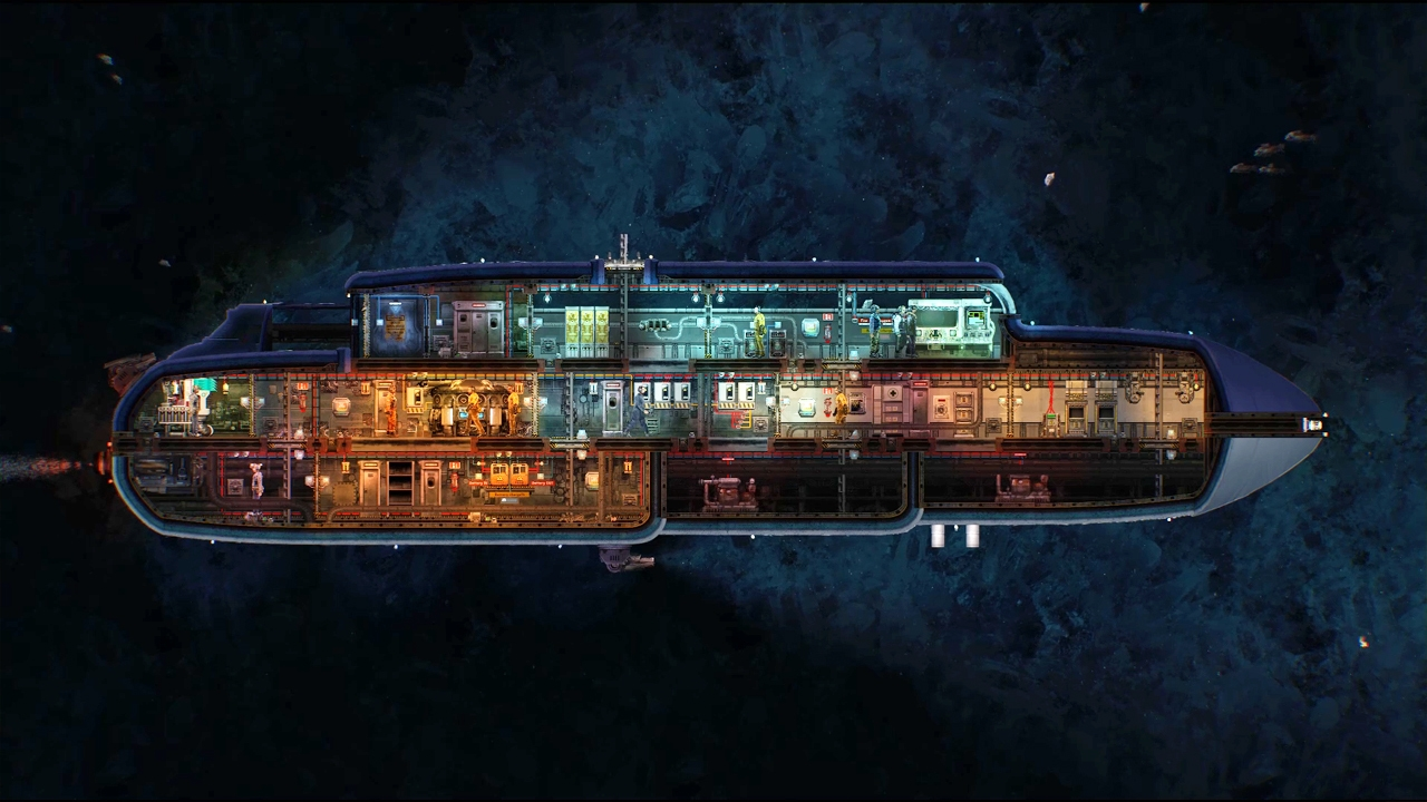 The Azimuth, a new vanilla submarine in Barotrauma